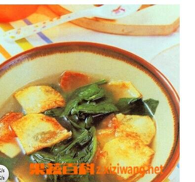 果蔬百科菠菜汤